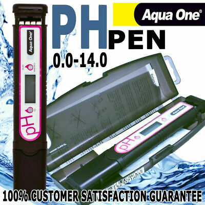 Aqua One Propen PH Tester Pen Hydro Waterproof Plant Aquaponic Meter Kit