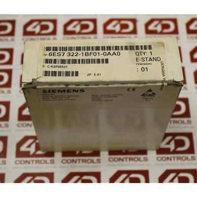 Siemens 6ES7 322-1BF01-0AA0 - New Surplus Open