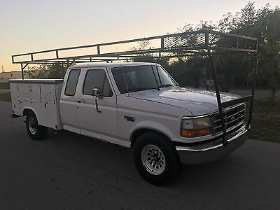 1996 Ford F250  Reading Utility Truck 5.8 Gas Motor 181K Miles