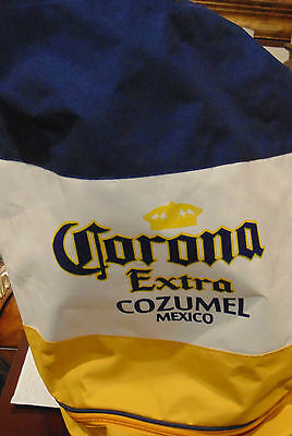 """Corona Beer beach tote bag with backpack straps 12"""" x 22"""""""