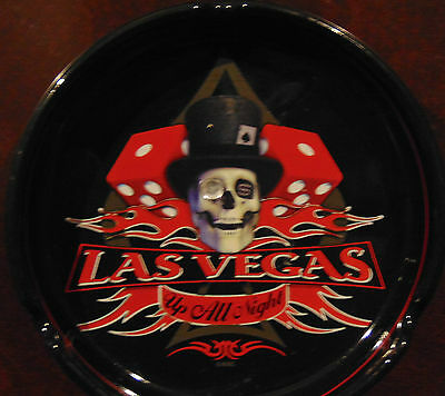 Las Vegas Skull ashtray