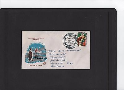 1968 Australian Antarctic Territory Excelsoir First Day Cover Macquarie Base PM