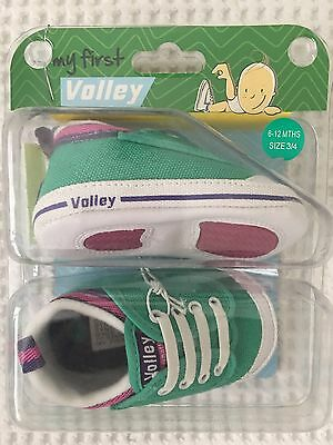 Dunlop Volley - Baby Girl - Size 6-12 Months - Size 3 / 4