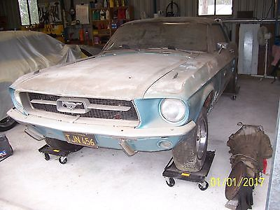 Ford Mustang 1967 V8 C Code Auto