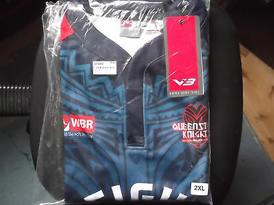 Queenstown Knight Home Rugby  Shirt Xxl Size Vb Make