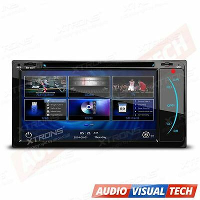 2 DIN Head Unit Car DVD Player Stereo GPS Sat Nav for Toyota RAV 4 Corolla Hilux