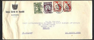 1948 Peruvian Air Mail Cover to London