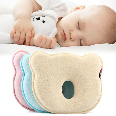 HOT! Soft Baby New Born Infant Toddler Sleeping Pillow Preventing Flat Head