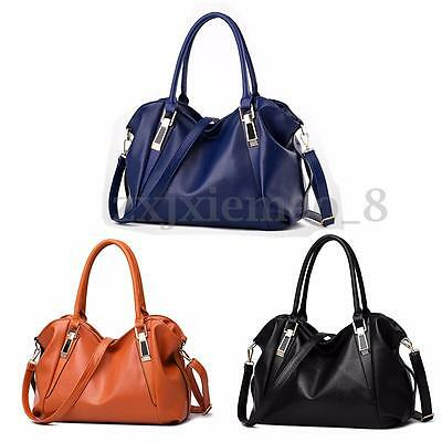 Women Leather Handbag Shoulder Bag Purse Ladies Messenger Crossbody Satchel Tote