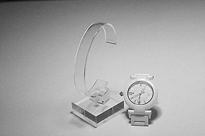2pack of Acrylic Bracelet Watch Display Stand Holder Display Stands, New