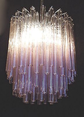 REALLY SPECTACULAR, EXTREMELY BEAUTIFUL LARGE RARE 60s CHANDELIER-VENINI MURANO