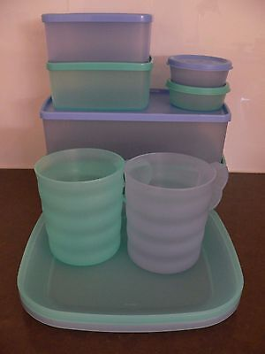 Brand New Tupperware Picnic~Entertaining~Container Set Includes 10 Items