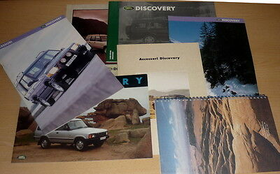 DISCOVERY Land Rover,lotto 8 brochure