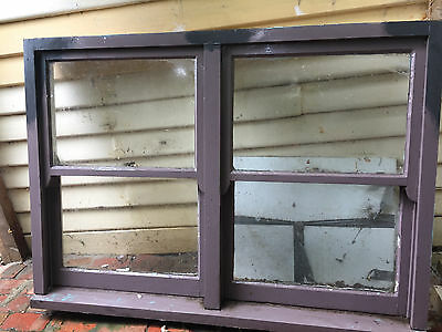 Double hung timber window