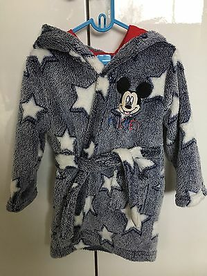Disney Mickey Mouse 18-23 Months Dressing Gown