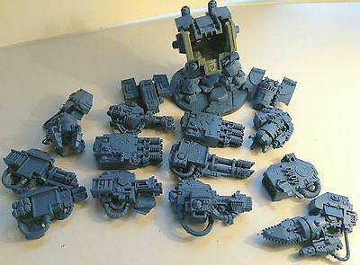 W40k Space Marine Venerable Dreadnought custom magnetised, lots of weapon choice