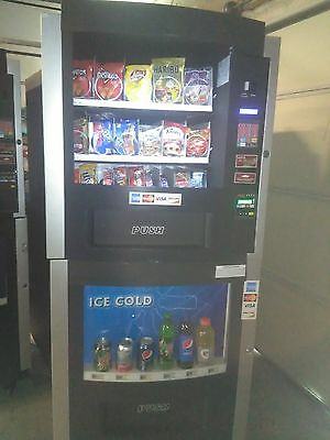 Rs800 Rs850 Combination Snack And Soda Vending Machine Great Condition