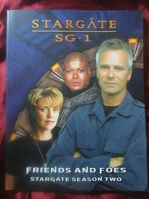 STARGATE SG1 RPG - FRIENDS AND FOES. Stargate Season Two Sourcebook