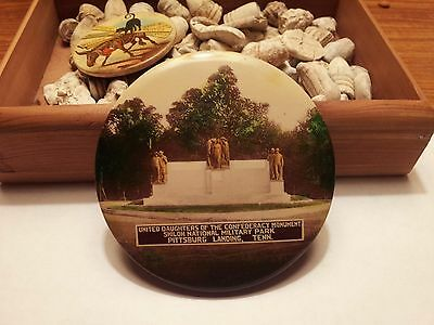 Large Celluloid/Mirror - UDC Monument - Shiloh, TN