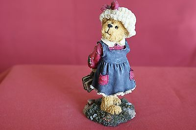 Part 4 (6 pieces) of an Exquisite Collection of Genuine Boyds Bears Figurines
