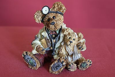 Part 5 (6 pieces) of an Exquisite Collection of Genuine Boyds Bears Figurines