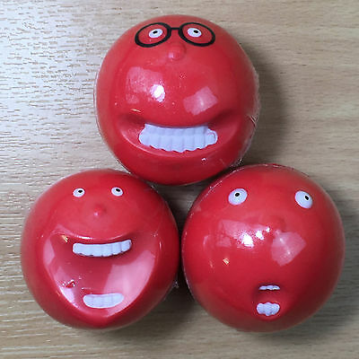 Red Nose Day Comic Relief 2009 - Set of 3 x rare noses - ALL SEALED (ref #10)