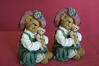 Part 8 (5 pieces) of an Exquisite Collection of Genuine Boyds Bears Figurines