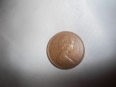 Rare 2p Coin New Pence 1971 excellent condition