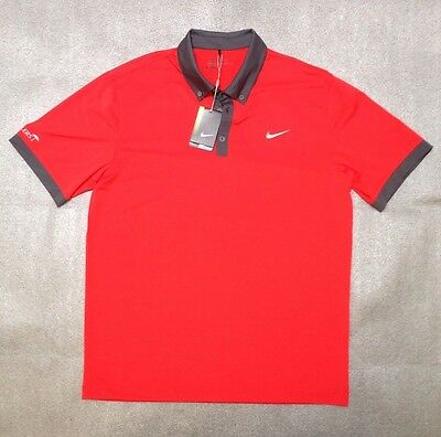 Nike Golf Tour Performance Magenta Men's Polo Size Large New With Tag