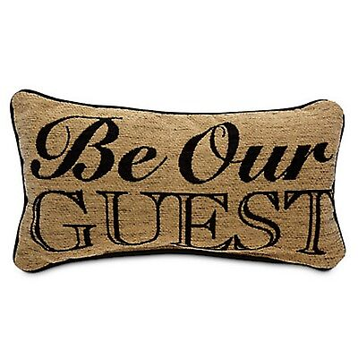Be Our Guest Throw Pillow Beauty & The Beast Disney Theme Parks NEW