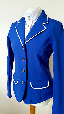 Harry's Horse  Ladies Softshell Competition Jacket  Cobalt Blue/white