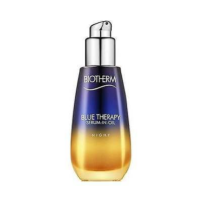 Biotherm Blue Therapy Night Serum-In-Oil 30ml, NEW Women's Skincare + Free P&P