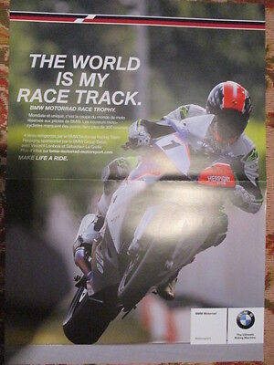 Poster 2 Pages Moto : Bmw Gamme + Bmw S1000Rr