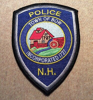 NH Bow New Hampshire Police Patch