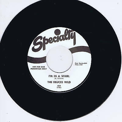 THE DEUCES WILD - I'M IN A WHIRL (Hot Rockin' Jiver - NEW REPRO) ROCKABILLY