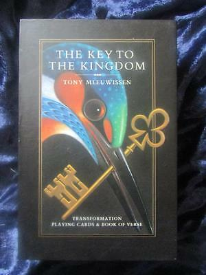 THE KEY TO THE KINGDOM. Transformation Playing Cards & Book of Verse. Unique