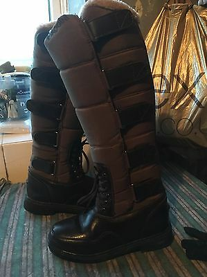 Brogini Forte Long Winter Boots Size 5