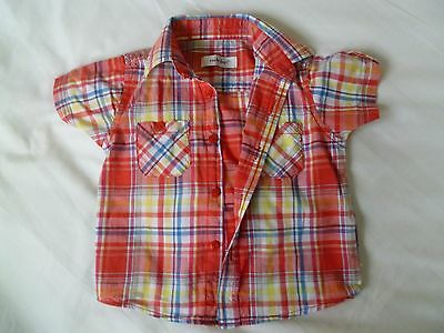 Boys Early Days Short Sleeved Shirt Age 18 - 24 months