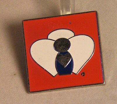 Salvation Army - PIN -  HEART TIE ON MALE UNIFORM SHIRT PIN
