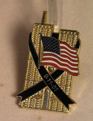 Salvation Army - PIN - 9/11 TWIN TOWERS COMMEMORATIVE PIN