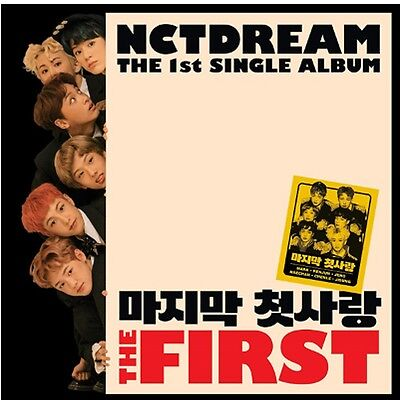 NCT DREAM-THE FIRST 1st Mini Album CD,Photo Book,Card SEALED