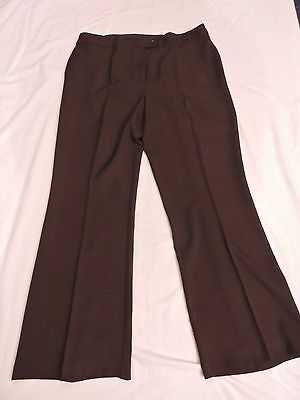Marks and Spencers cocoa brown trousers, size 18