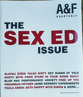Abercrombie and fitch back to school 2003 the sex ed issue