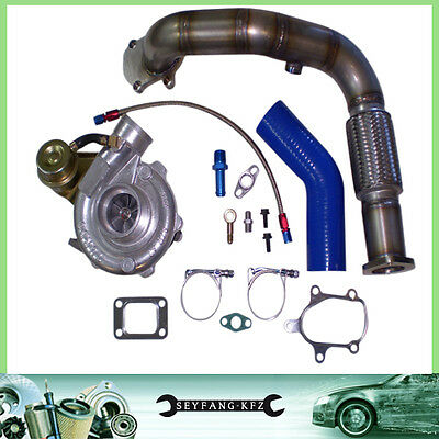 Turbokit for Fiat Punto GT + Uno Turbo 1.4 mit GT25 Turbocharger + Downpipe