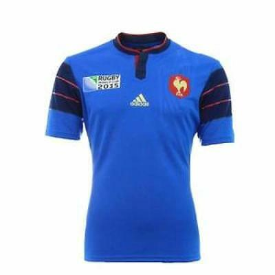 Adidas maillot Rugby France domicile neuf taille enfant