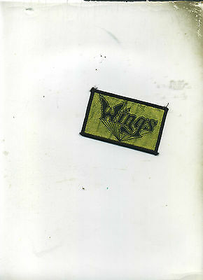 Wings Rare Vintage Patch Unused Great Condition