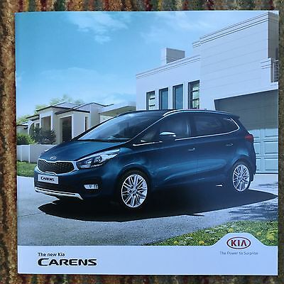 KIA - Kia Carens UK Sales and Product Specification Brochures 2016