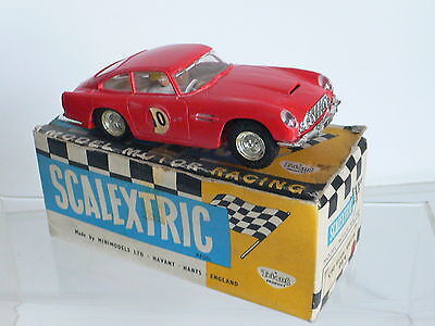 Scalextric C68 Aston Martin DB4 GT Sports Car  1960's Boxed