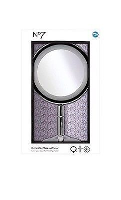 No7 Illuminated Make-up Mirror    -  NEW IMPROVED  IN BOX SEALED RRP:£49.99