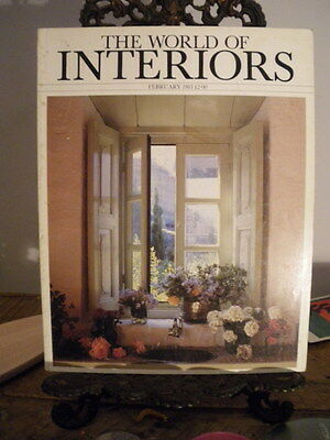 World of Interiors Magazine Feb 1983